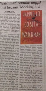 "Review of ""Go Set a Watchman"" (2015)"