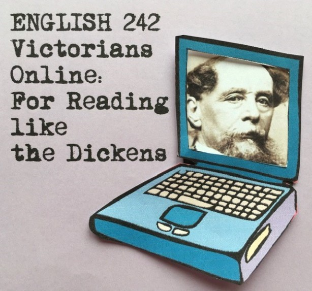 Graphic Title: Victorians Online, For Reading like the Dickens