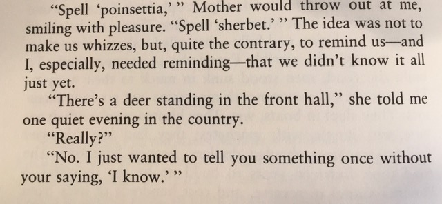 Excerpt from An American Childhood by Annie Dillard.